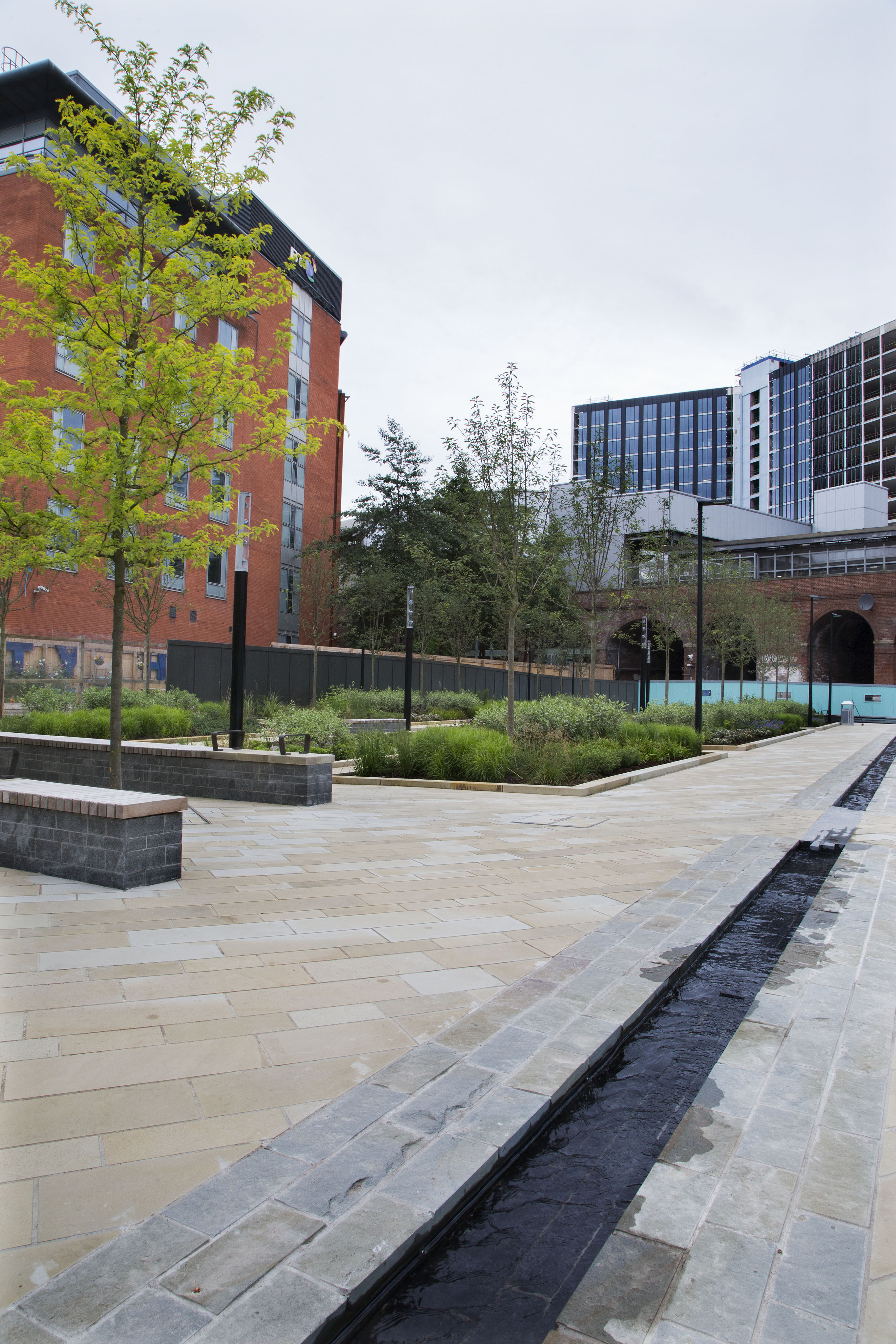 Eurovia Construction - Sovereign Square Leeds