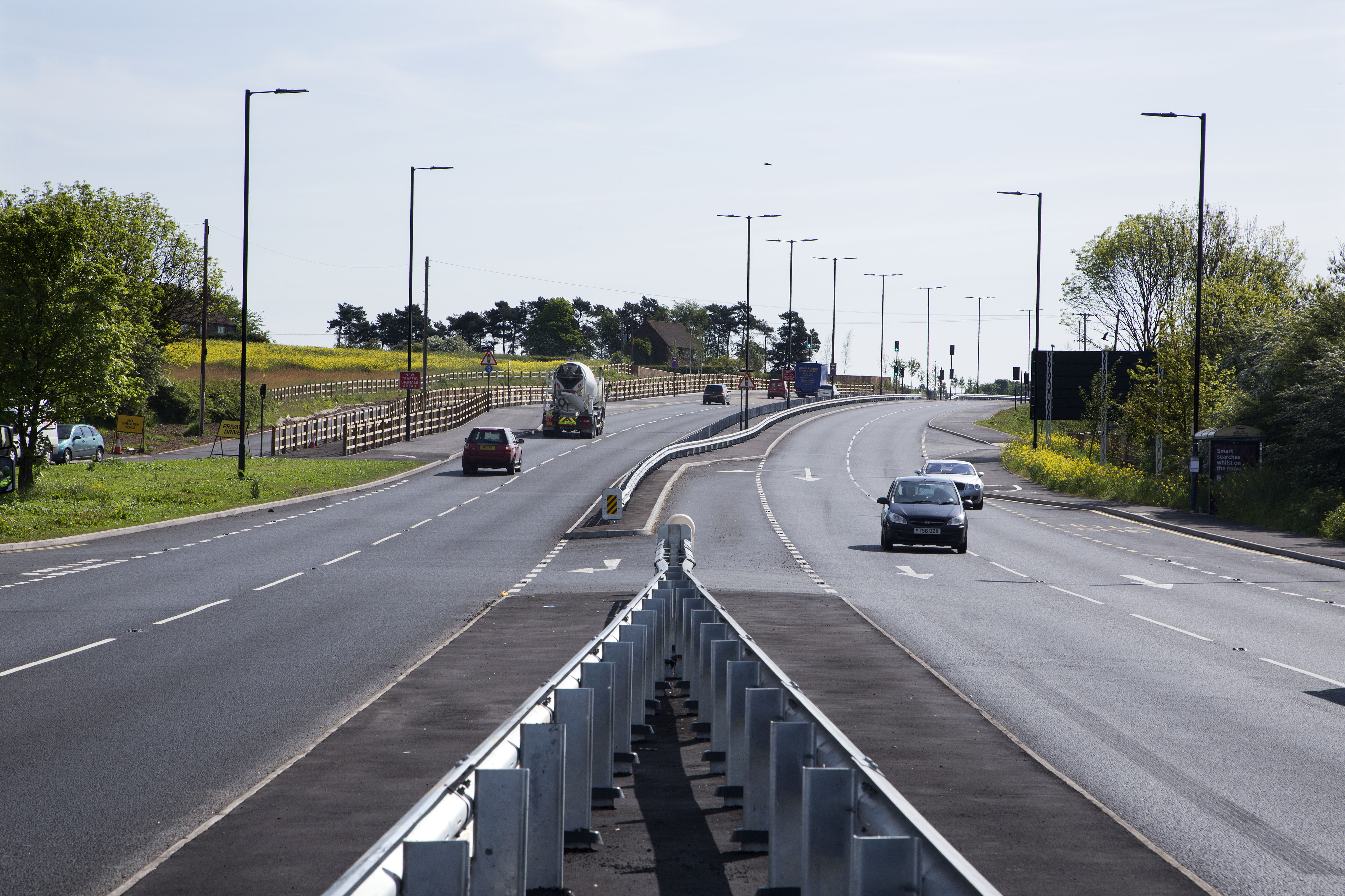 A57 Todwick Bypass - M1 Junction 30