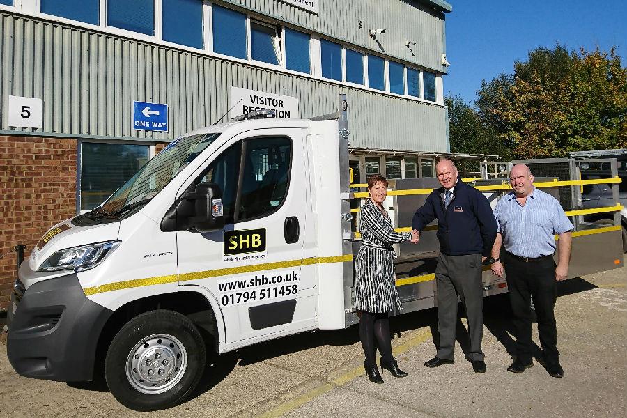 LCVT Vehicle Delivered